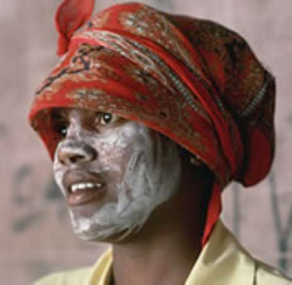 Some men are as guilty of skin-bleaching as women